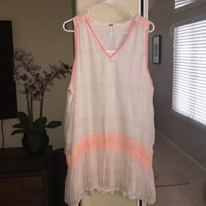 Free People pool Cover Up (Ivory Combo)